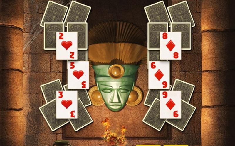Aztec Solitaire screenshot 1