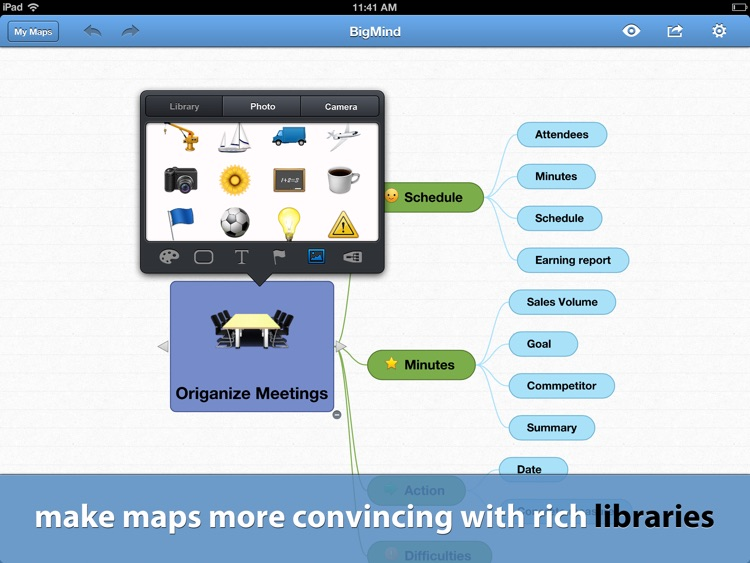 BigMind Pro - Mind Mapping screenshot-4