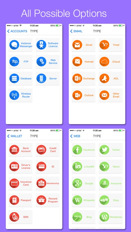 All in 1 Password Manager & Secret Camera - Secure digital Wallet application to Hide Personal Data with Private Browser screenshot-3