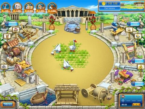 Игра Веселая Ферма 3. Древний Рим HD (free)