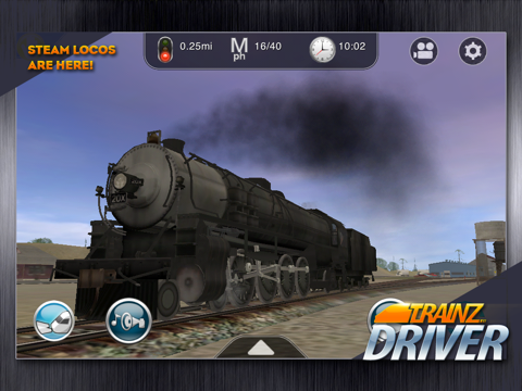 Trainz Driver - train driving game and realistic railroad simulatorのおすすめ画像1