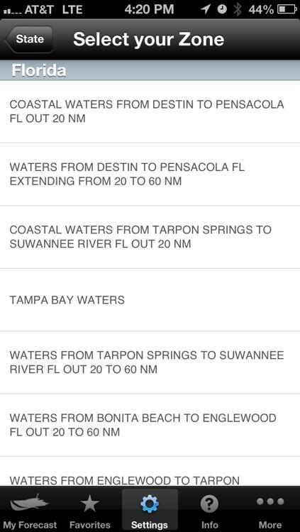 Boating Weather screenshot-3