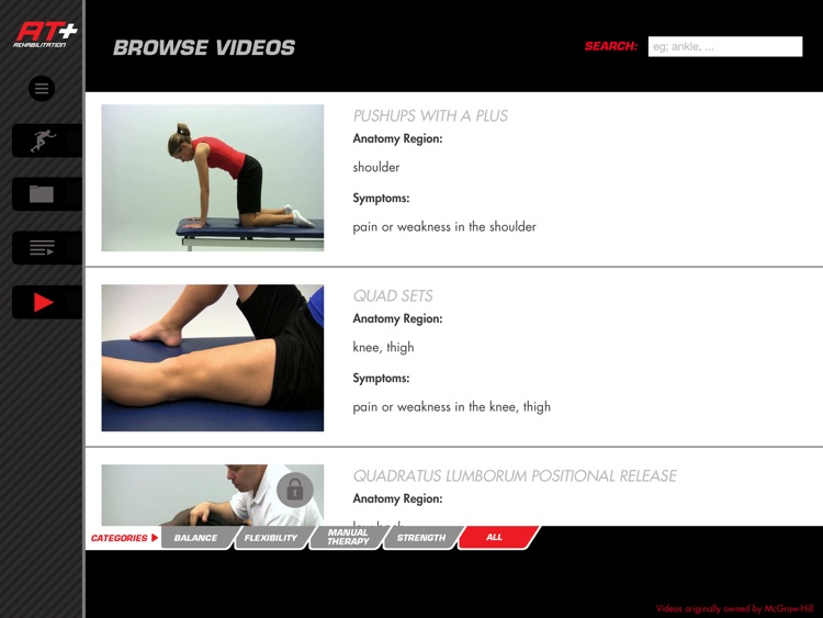 Athletic Trainer Plus: Rehab –Videos for Injury Rehab screenshot-4