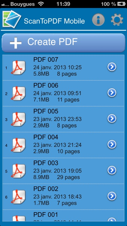 ScanToPDF Mobile screenshot-0