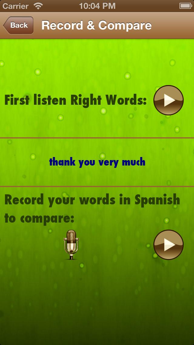スペイン語を学ぶ:女性の声でフレーズのおすすめ画像4