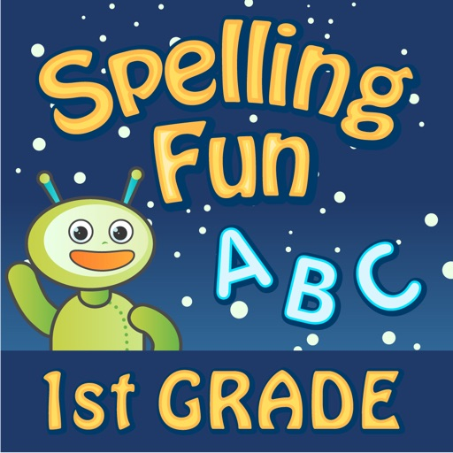 Vocabulary & Spelling Fun 1st Grade HD: Reading Games with A Cool Robot Friend icon