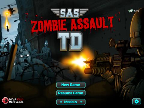 SAS: Zombie Assault TD HD iPad app afbeelding 1