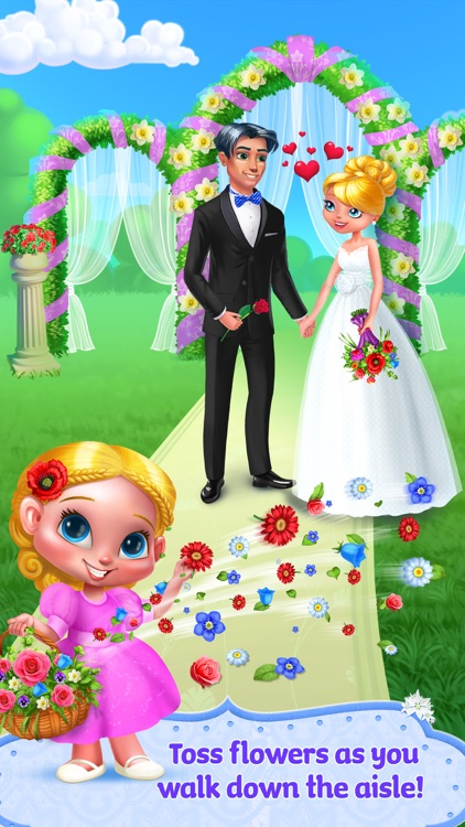 Flower Girl: Big Wedding Day screenshot-4