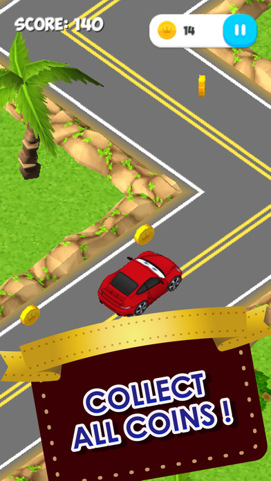 ZigZag Cars : Forest screenshot one