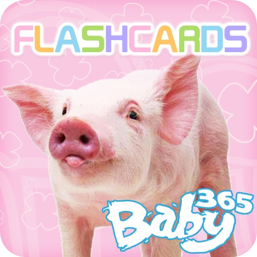 baby365-flashcards-Land Animals icon