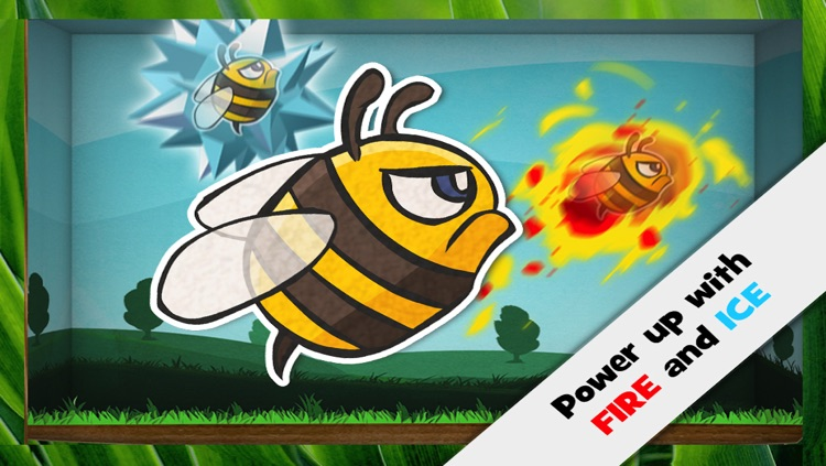 Paper Bees Free screenshot-4