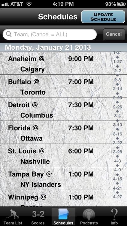 Hockey Radio & Live Scores + Highlights screenshot-3