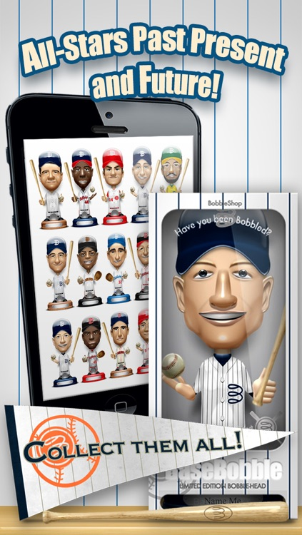 Basebobble - Bobblehead Avatar Maker App for Baseball from Bobbleshop screenshot-3