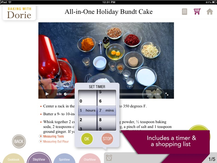 Baking with Dorie! screenshot-4