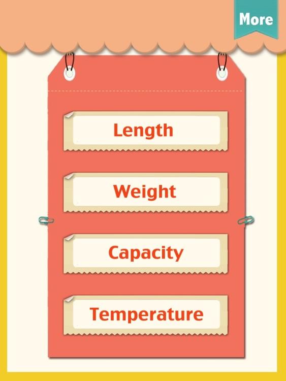 Kids Math-Measurement Worksheets
