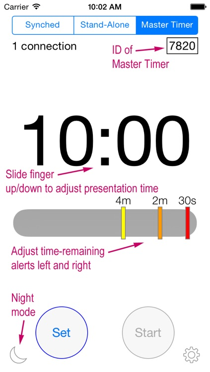 Presentime Synchronized Presentation Timer screenshot-0
