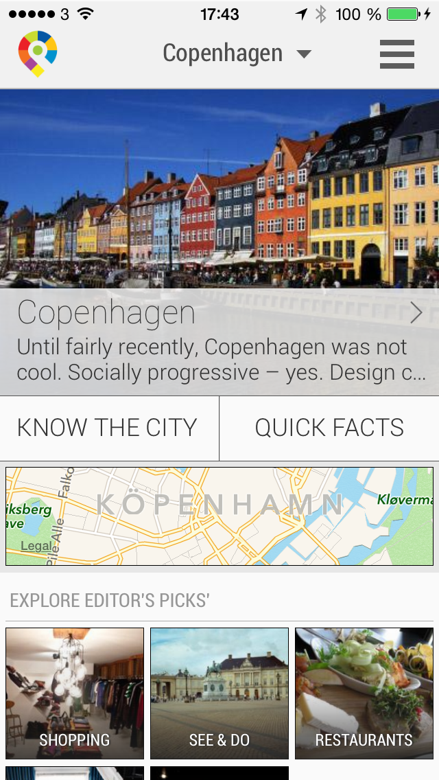 Copenhagen City Travel Guide - GuidePal screenshot one