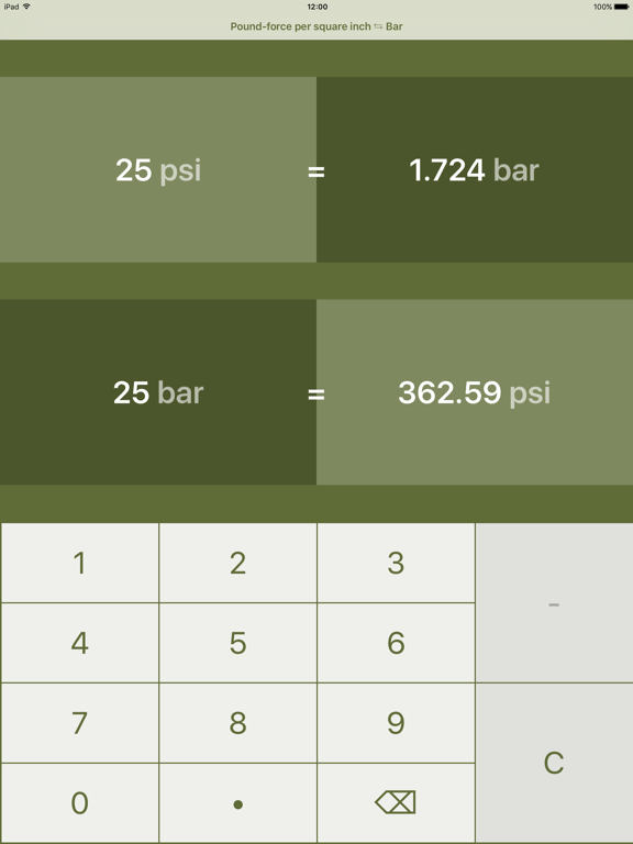 Pound-Force Per Square Inch To Bar   Psi To Bar   App Price Drops