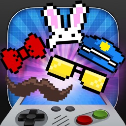 InstaPixel - A Funny Retro Photo Booth Editor with 8 Bit Stickers for your Pictures