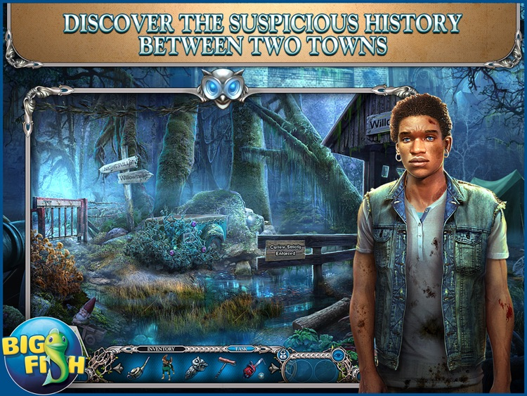 Mystery Trackers: Nightsville Horror HD - A Hidden Object Adventure (Full) screenshot-0