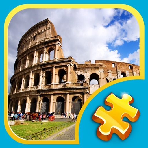 Jigsaw Puzzles: Seven Wonders