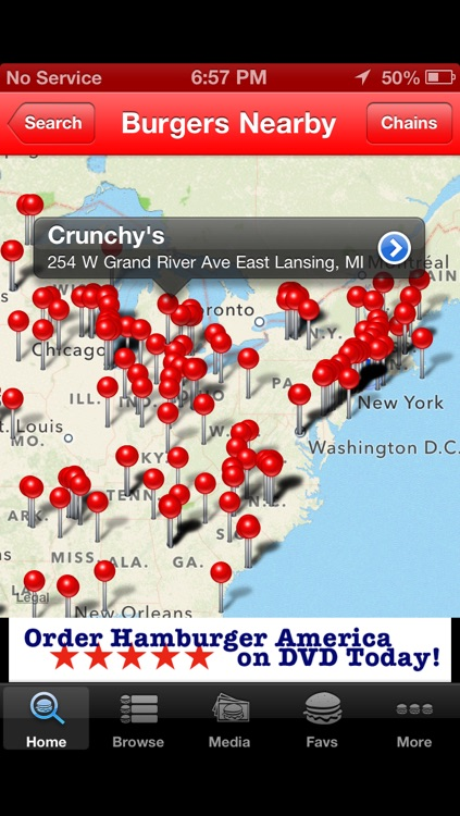 Burger GPS screenshot-3