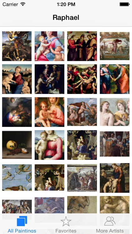 Raphael 161 Paintings HD 180M+  Ad-free screenshot-0