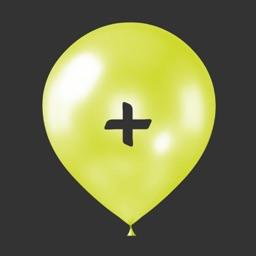 Math Balloons Add