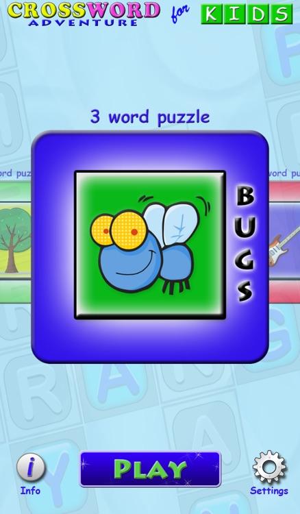 Crossword Adventure for Kids