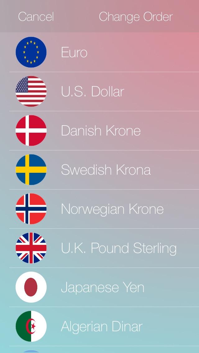 通貨のコンバーター iOS 8 | 日本人のスクリーンショット4