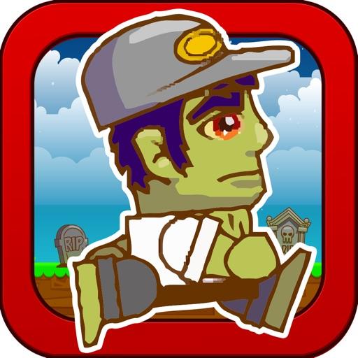 Tiny Zombie Rush - The Cliff Run Game Lite
