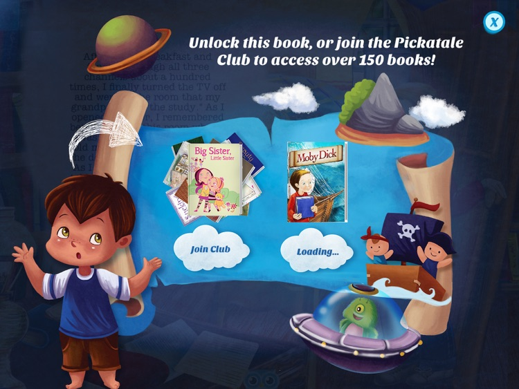 Moby Dick - Have fun with Pickatale while learning how to read. screenshot-4