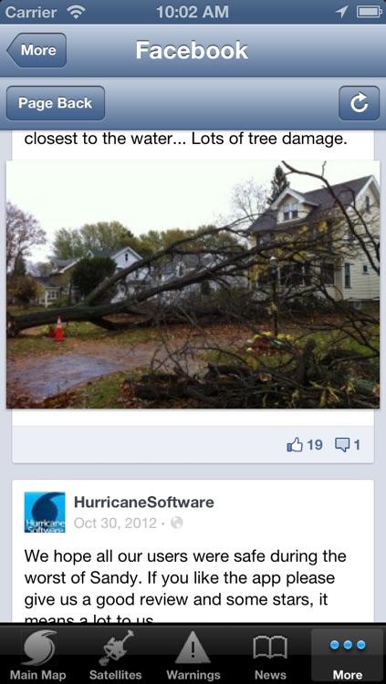 Hurricane Tracker By HurricaneSoftware.com's - iHurricane Pro screenshot-4