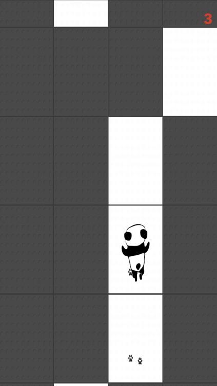 Tippy Tap Panda - Don't step the Black Tile