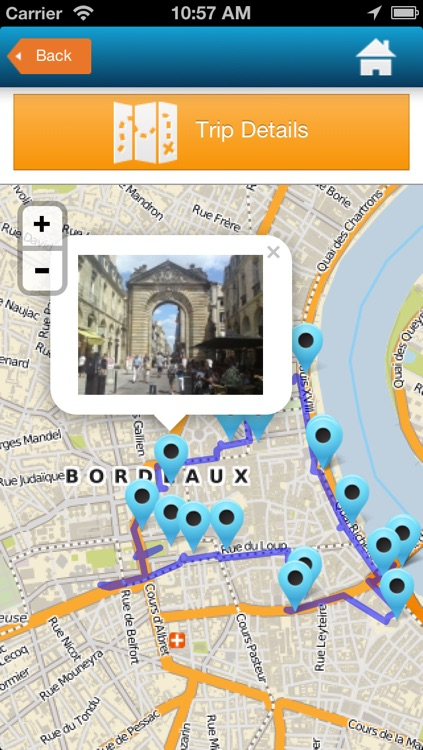 Bordeaux guide, hotels, map, events & weather screenshot-4