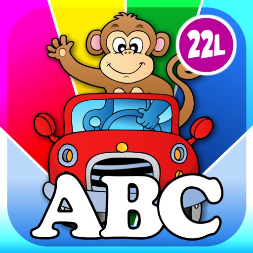 Animal Preschool Shape Builder Puzzles - First Word Learning Games for Toddler Kids Explorers by Abby Monkey®