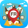 France offline Travel Guide & Map. City tours: Paris,Caen,Lyon,Strasbourg