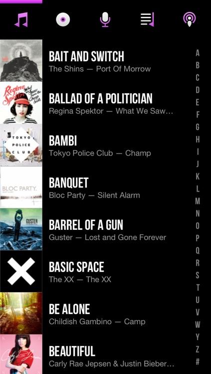 CarTunes Music Player screenshot-4