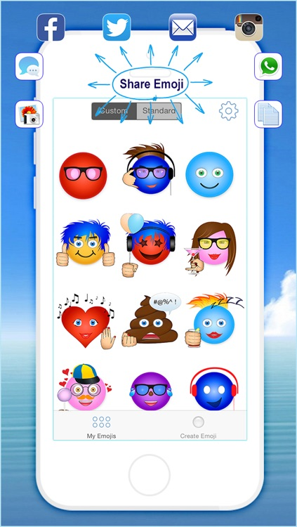 Emoji Studio Create - Create Custom your own Emoji Pro screenshot-3