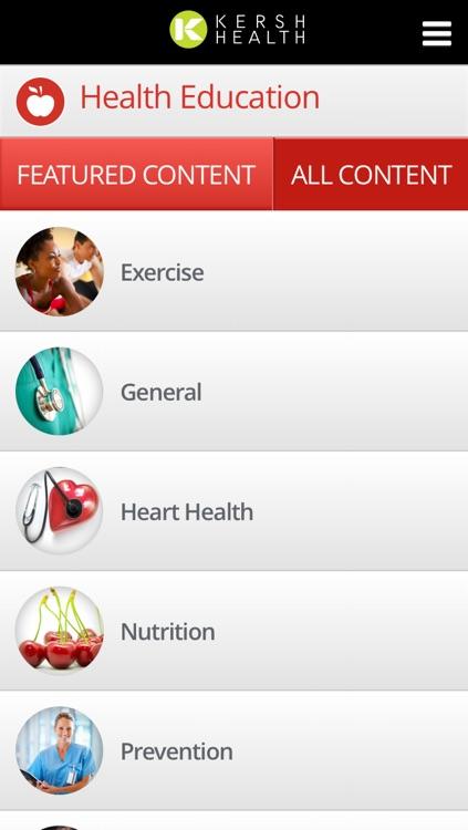 Kersh Health screenshot-3
