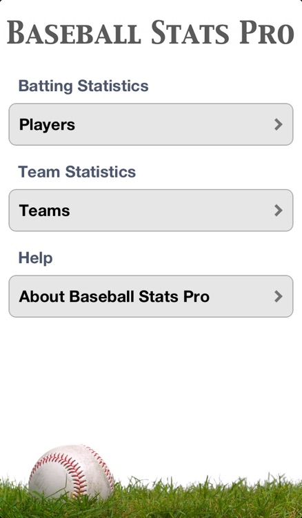 Baseball Stats Pro screenshot-0