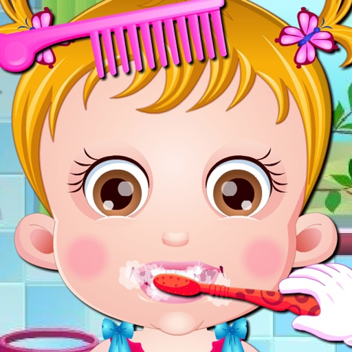 Care Baby : Wash Face & Wash Cloth & Brushing