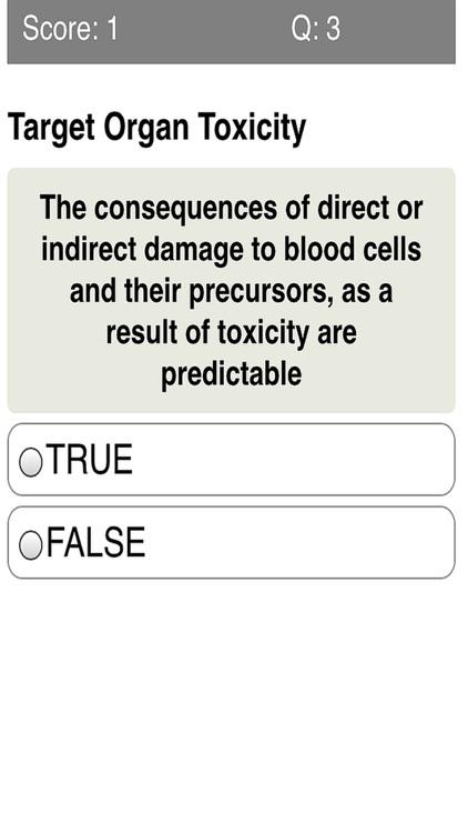 Toxicology & Poisonous Substances Quiz screenshot-3