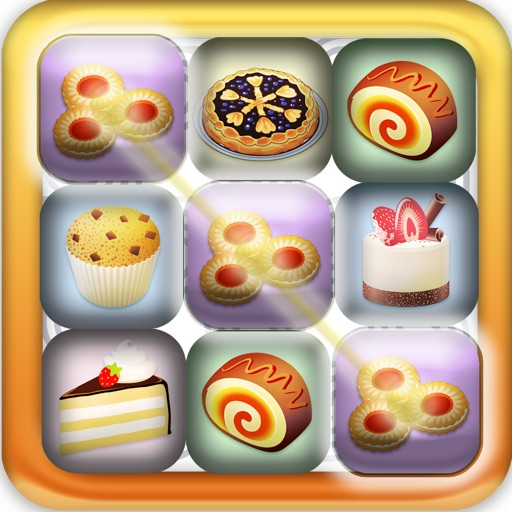 A Sweet Bakery Cupcake: Make a Cake Match Food Game - Free Version