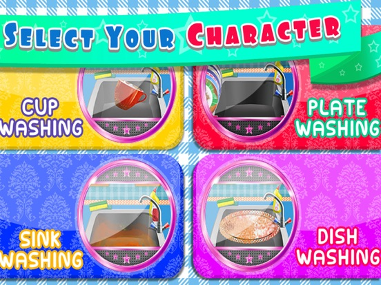 Kids Dish Washing and Cleaning Game - Free Fun Kitchen Games for Girls,Kids and Boys-ipad-4
