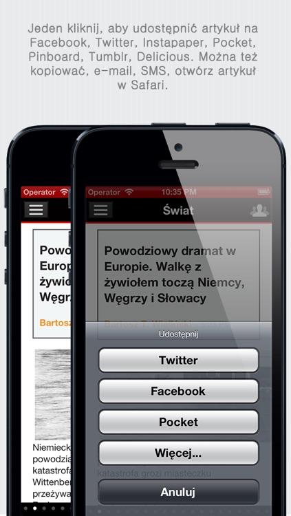 Polskie Gazety+ (Polish Newspapers+ by sunflowerapps) screenshot-3