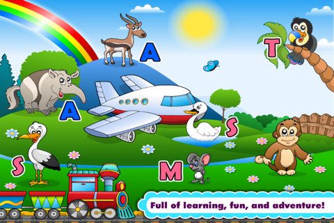 Abby Phonics: Kindergarten Reading Adventure for Toddler Loves Train screenshot 3