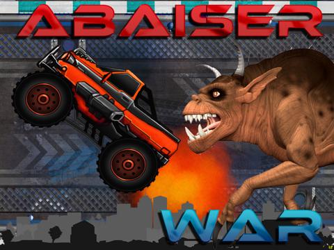 Abaiser Monster Trucks Vs Zombies: Free Words War Game-ipad-0