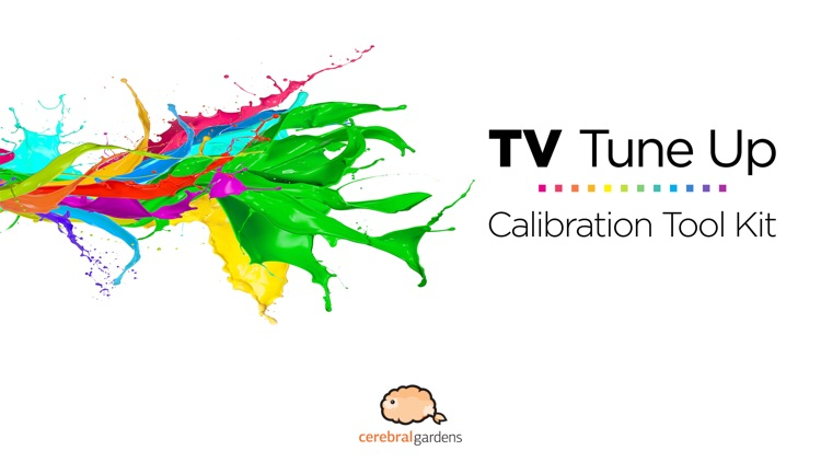TV Tune Up - Calibration Tool Kit