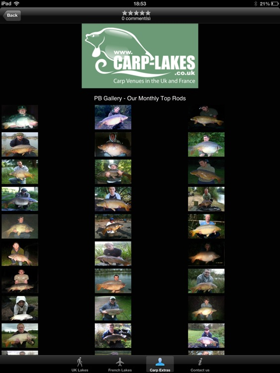 Carp Lakes HD - Carp Fishing Venues in the UK & France screenshot-3